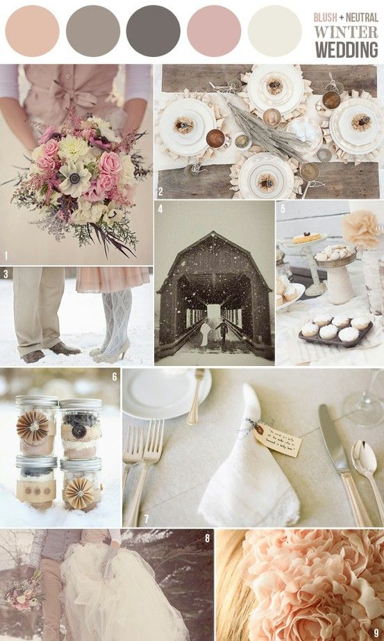 Perfect Palettes For A Winter Wedding Delegate